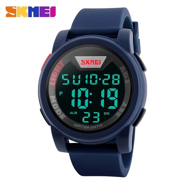часы SKMEI 1218 Blue (синие) - 1