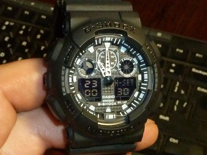 часы 100 черные - 1