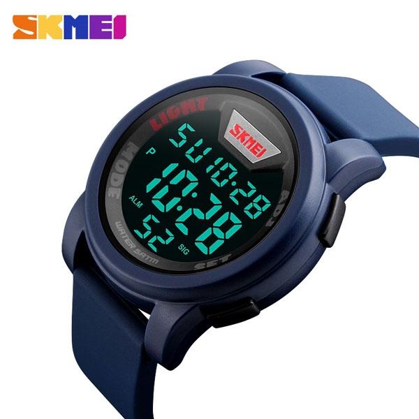 часы SKMEI 1218 Blue (синие) - 3