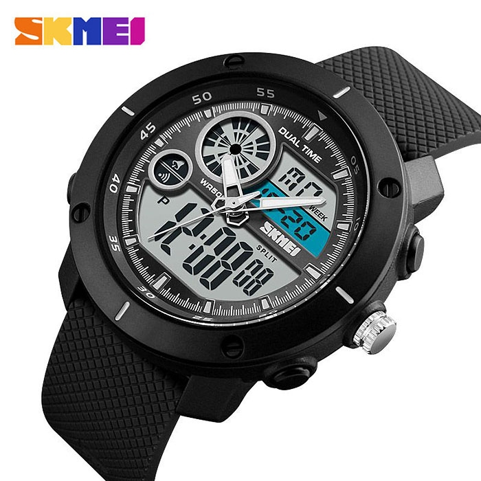 часы SKMEI 1361 чёрные - 2