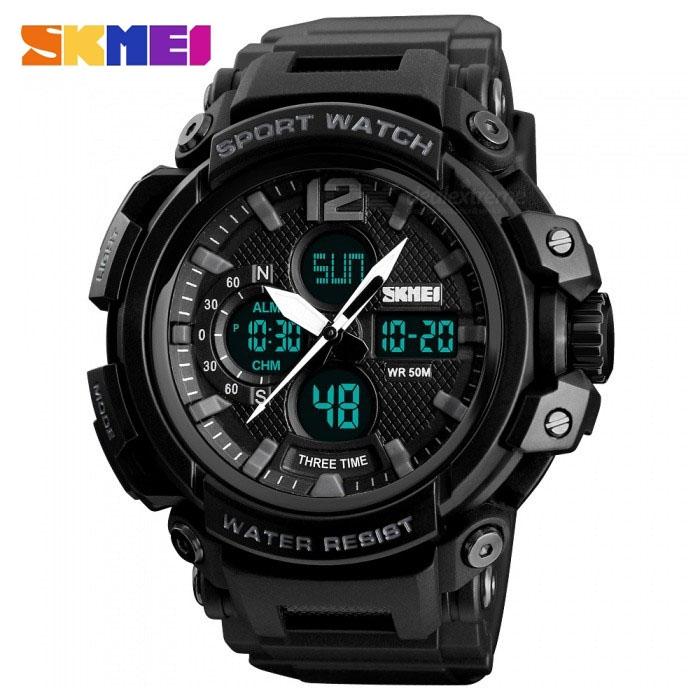 часы SKMEI 1343 чёрные - 1