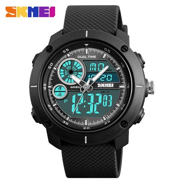 часы SKMEI 1361 чёрные - 1