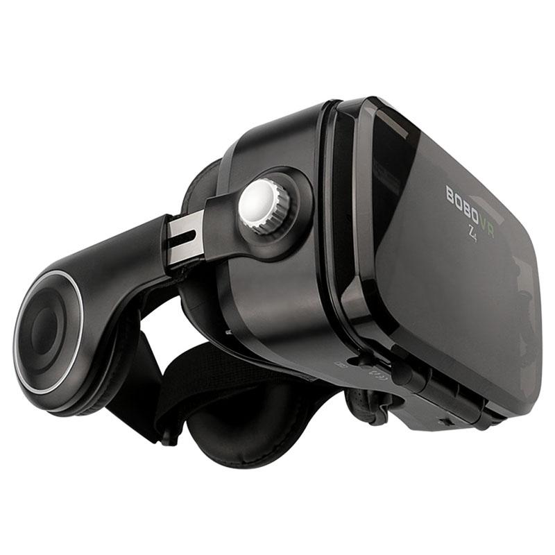 Очки-шлем BOBOVR Z4 black с наушниками - 2