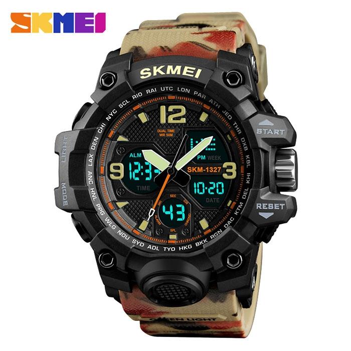 часы SKMEI 1327 камуфляж - 1