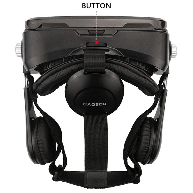 Очки-шлем BOBOVR Z4 black с наушниками - 6