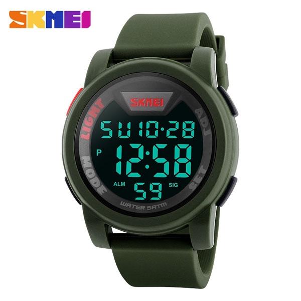 часы SKMEI 1218 Army Green (хаки) - 1
