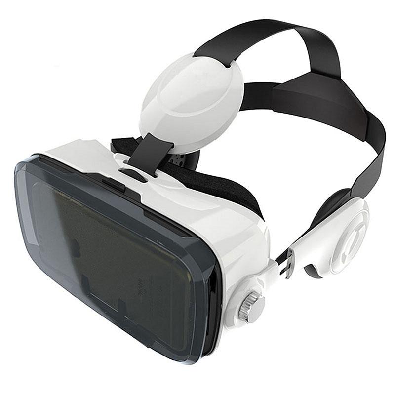 Очки-шлем BOBOVR Z4 white с наушниками+джойстик - 1