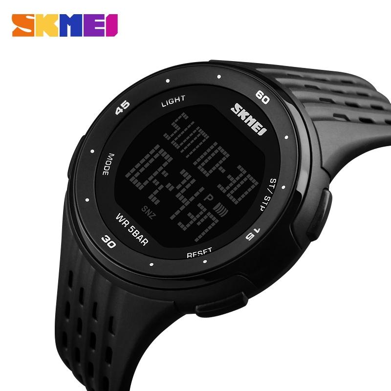 часы SKMEI 1219 BLACK чёрные - 2