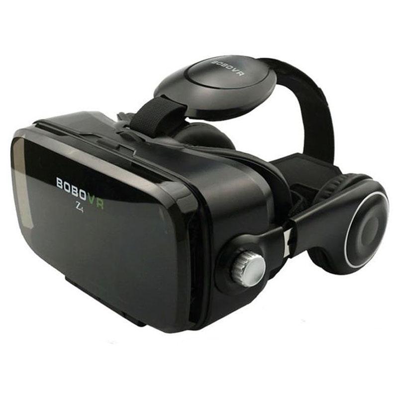 Очки-шлем BOBOVR Z4 black с наушниками - 1