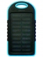 Power Bank Solar 5000 мАч голубой - 1