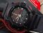 часы SKMEI solar 1050 чёрные с красным - 8