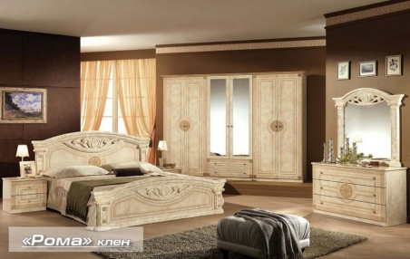 спальня РОМА клен