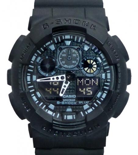 часы 100 черные