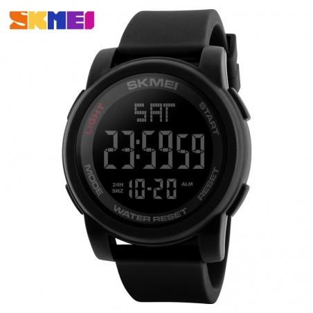 часы SKMEI 1257 чёрные