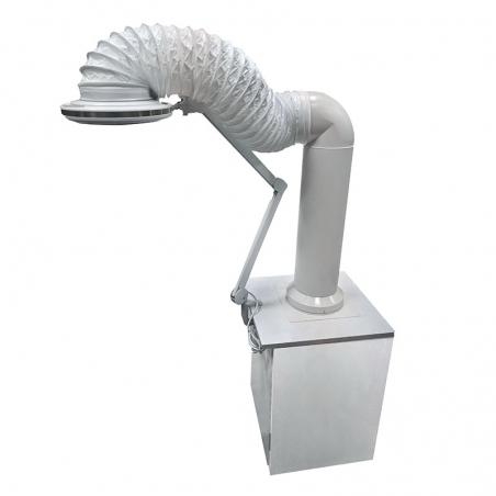 Маникюрная вытяжка ТУРБО + светодиодная подсветка + угольный фильтр