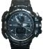 часы  1100 черные с металликом